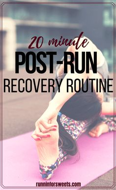 Try this effective post-run routine in 20 minutes or less! Complete with the best post-run stretches, strength exercises, and cooldown activities to help reduce soreness, promote recovery, stay injury free and become a stronger runner. #postrun #postrunroutine #postrunstretches #postrunrecovery Marathon Training For Beginners, Running For Beginners, Half Marathon Training, How To Start Running, Post Run Stretches, Stretches For Runners, Stretching Exercises, Long Distance Running Tips, Running Humor