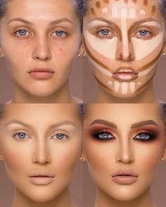 37 Tutorial for pretty makeup for beginners and students 2019 - Beauty Make-Up Makeup 101, Makeup Tricks, Skin Makeup, Beauty Makeup, Makeup Ideas, Beauty Tips, How To Makeup, Makeup Goals, Best Makeup Tips