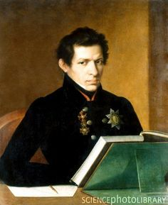Nikolai Lobachevsky (1792 - 1856) was a Russian mathematician and geometer, known primarily for his work on hyperbolic geometry, otherwise known as Lobachevskian geometry. It was a non-Euclidean geometry.