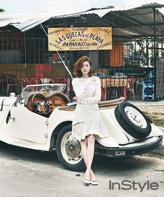 Han Hyo Joo - InStyle Magazine May Issue '14