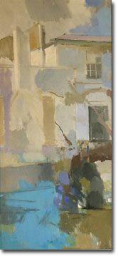 John Keats in the Garden of his House - Tony Rothon, 2004