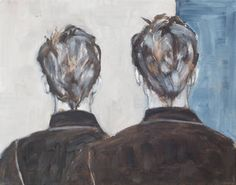 Men from Behind Painting Behind, Oil On Canvas, Saatchi Art, Original Paintings, Men, Art, Painted Canvas, Guys