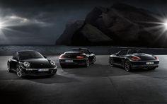 Porsche Black Edition Range (2011)   Stealthy!   Luxury...