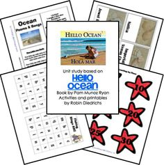 Free Hello Ocean Lapbook - Not a BFIAR book but I need a filler for our last 2 months : )