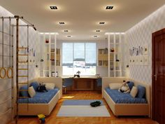 Картинки по запросу интерьер комнаты для двух мальчиков подростков