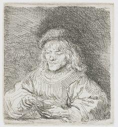 De kaartspeler, Rembrandt Harmensz. van Rijn, 1641