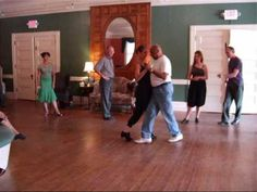 Brandon, Vermont, 13 September Facundo Posadas and Christy Cote teaching a milonga traspie class at the Moonlight Tango Weekend. Tango, Vermont, Basketball Court