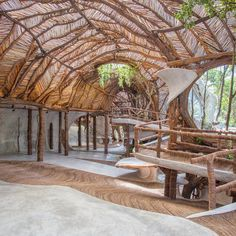 Step Inside Tulum's Treehouse Version of the Guggenheim Museum