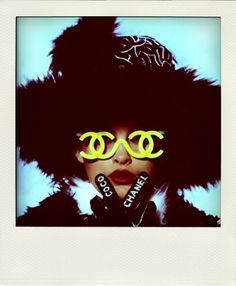vintage chanel Editorial Fashion Photography.