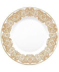 Waterford Lismore Lace Gold Salad Plate