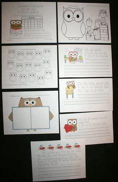 "FREE ""Owl"" miss school memory book."