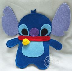 Disney Stitch and Lilo Felt Photo Frame by AmazingMermaid on Etsy