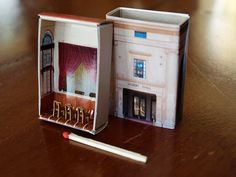 Matchbox Building Matchbox Miniature of by SuitcaseDollhouse