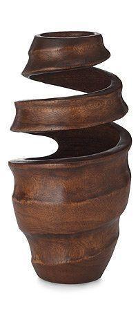 Wow - wood turned vessel - art!