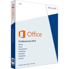 Office Professional 2013 was designed to help you create and communicate faster, with time-saving features and a clean, modern look across all your programs. Plus, save your documents online in SkyDrive to access virtually anywhere. http://www.freesoft2010.co.uk/ms-office-professional-2013-uk-70.html