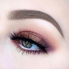 Rose Gold Smokey Eye