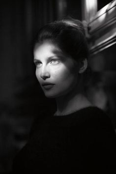 Laetitia Casta by Dominique Issermann. Check out the interview of the French actress in the current issue of Numéro. Laetitia Casta, People Photography, Creative Photography, Portrait Photography, Beauty Photography, Amazing Photography, Yvonne De Carlo, Rodney Smith, Black And White People
