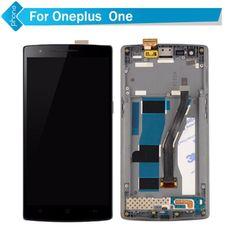 Pour Un Plus un 1 LCD Affichage Écran Tactile Digitizer avec Cadre pour Oneplus one Assemblée