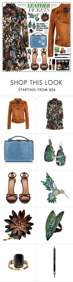 """""""Is Love!"""" by hennie-henne ❤ liked on Polyvore featuring Alice + Olivia, Mark Cross, Alexis Bittar, Givenchy, Dana Buchman, Loree Rodkin, Clarins, MAC Cosmetics and Vincent Longo"""