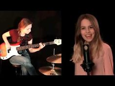 Train Cover by Charlotte Zone, Jadyn Rylee and Sina+leslie Drum Cover, Soul Sisters, Music Artists, All About Time, Charlotte, Singer, The Incredibles, Bass Guitars, Musik