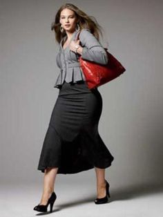 Great No Cost Business Outfit curvy Popular, Great No Cost Business Outfit curvy Popular, 42 Total Inspirierend Entzückende. Curvy Outfits, Plus Size Outfits, Fashion Outfits, Work Outfits, Casual Outfits, Curvy Girl Fashion, Plus Size Fashion, Fashion Black, Petite Fashion
