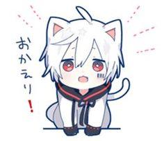 Mafumafu sticker (cat)