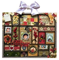 "Hybrid Christmas Letter Block Tray ""Merry Christmas to You"" - Scrapbook.com"