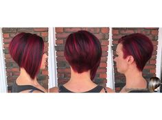 "Sarah @sarahvarno have sent us some of her latest hair images. Love this cut and colour on her. She wrote ""Lovvveeeeeee my color/trim from @hairbyladyred because she just adds her magic every time!! ✨✨✨ thank you for all that you do to make my hair pretty sweet! "" To have your hair featured please tag @bobbedhaircuts #hairstyles #pixiecut #pixiecuts #pixie #redhair #paulmitchell #inkworks #haircolor #hairstylist #ilovemyhair #pixiehair #bobcut #bobbedhair #Bob #ilovebobs #ilovehair ..."