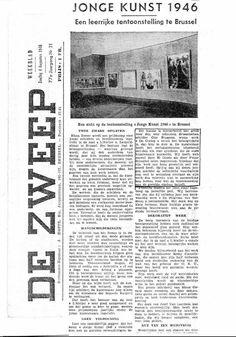De Zweep : Jonge Kunst (août 1946)