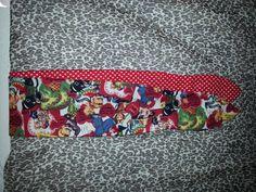 Rockabilly - Valentines  print Pin up style Head-wrap. $9.00, via Etsy.