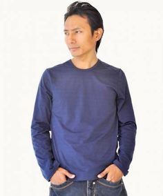 Comfortable long sleeve cotton t-shirt with stitched shoulder - perfect for daily wear!