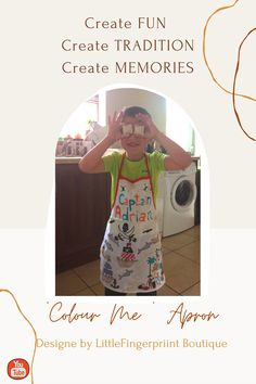 Established 2018 Little Fingerprint Boutique was inspired by my little boy who was 5 years old at the time. The first product in the 'Colour Me Collection' was apron, followed by 'Princess/Unicorn' and 'Owl' framework aprons and then expanding collection with 'Colour Me' - placemats, tablecloths and dresses. #colourmeapron #cookingwithkids #cookingwithkidsisfun #kidsapron #rainydayactivitie Kids Apron, Preschool Toys, Kids Room Design, Love To Shop, Cooking With Kids, Felt Toys, Tablecloths, Nursery Wall Art, Aprons