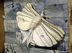 Repurposed library catalog cards, not easy to find anymore but still inspiring. Altered books as art fun too. Look for that in Aug.