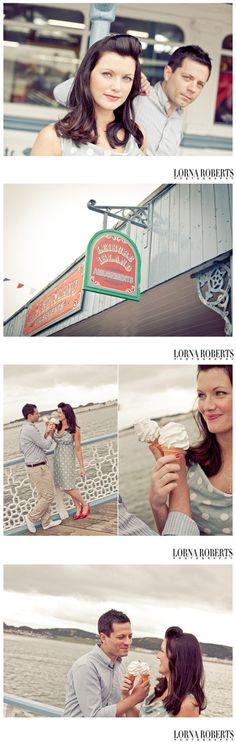 On the prom - engagement shoot at the seaside www.lornarobertsphotography.com Engagement Shoots, Seaside, Prom, Senior Prom, Engagement Photos, Beach, Engagement Pics, Engagement Photography, Coast