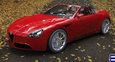 Another Render Of Alfa Romeo Spider The car enthusiasts are so eager to see a sportive Alfa Romeo, that renders of a possible model just keep invading the internet. This render has caught our attention. It comes from Antonio Bonacci, an Italian designer, who thought that blending Alfa Romeo with some features take from Spider...