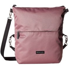 Sherpani Vale (Mauve) Cross Body Handbags (75 CAD) ❤ liked on Polyvore featuring bags, handbags, shoulder bags, crossbody purse, handbags shoulder bags, purses crossbody, shoulder strap handbags and crossbody shoulder bags