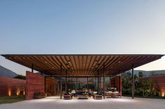 Roof Architecture, Contemporary Architecture, Chinese Architecture, Futuristic Architecture, Contemporary Design, Patio Design, Home Design, Interior Design, Design Ideas