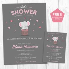 Baby Shower Girl Invitations