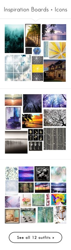 """""""Inspiration Boards + Icons"""" by qwertyuiop-sparta ❤ liked on Polyvore featuring Improvements, Pottery Barn, Barclay Butera, Intelligent Design, Pier 1 Imports, Art Classics, art, yerawizardharry, Americanflat and Escalier"""