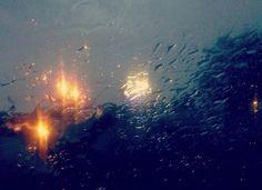 Rain on windsheild