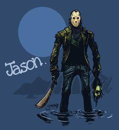 Jason Voorhees - Friday the 13th - Phlegias-T-Redback.deviantart.com