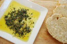 "Carrabba's Bread Dipping Spices:  ""Actual Recipe"": fresh rosemary, fresh basil, fresh parsley, fresh garlic, dried oregano, granulated garlic, crushed red pepper, cracked black pepper and kosher salt."