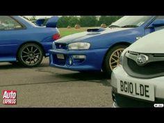 O Subaru Impreza é, para os entusiastas, um carro com extremo potencial, Colin McRae ajudou muito para criar esta imagem. Neste vídeo podemos ver um comparativo de versões especiais do Impreza contra a nova versão WRX STi Cosworth...Vejam...