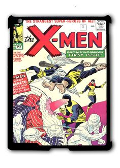 X-Men Comic Cover Ipad Case, Available For Ipad 2, Ipad 3, Ipad 4 , Ipad Mini And Ipad Air