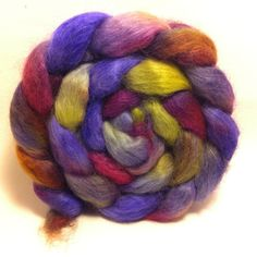 Menippe  Wensleydale fiber for spinning and by ShadawynFiberArts, $20.00