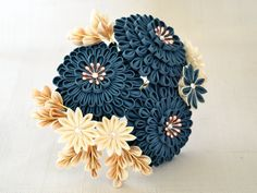 This kanzashi is something that I have made for myself for an event that I was attending recently to match my kimono coordination. I really like how it turned out, it's something different from wha...