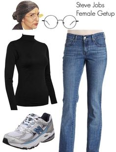 Steve Jobs costume for women