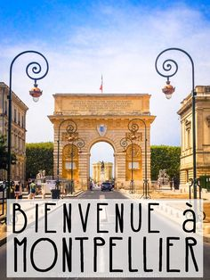 Over three hundred days of sunshine a year, plenty of history, what's not to love about Montpellier? Here's a free and self-guided Montpellier walking tour! Montpelier France, French Trip, Places To Travel, Places To Visit, Belle France, Voyage Europe, South Of France, France 2016, Best Cities