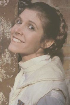 retrostarwarsstrikesback:  Carrie Fisher, Empire Strikes Back, @retrostarwarsstrikesback
