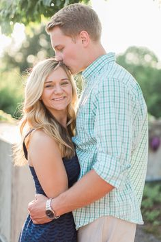 What to wear for your engagement session- navy blue dress